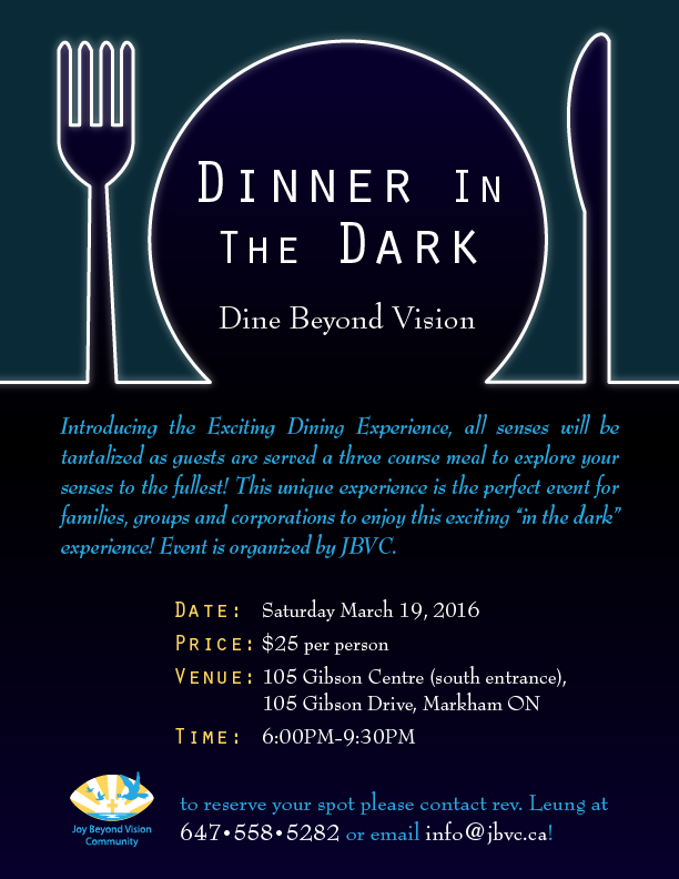 Dinner in the Dark (English)