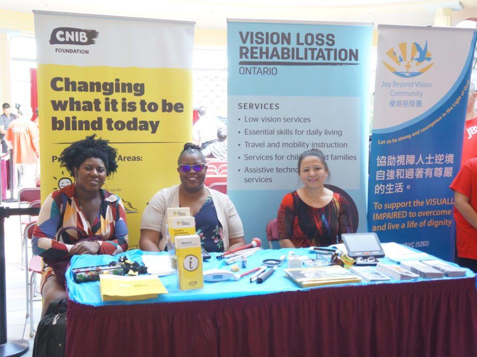 CNIB Foundation booth
