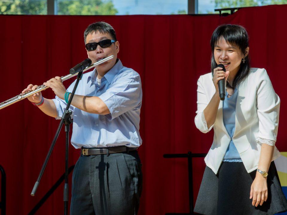 VIP performing flute