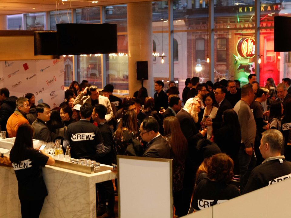 Full house audiences at the lobby