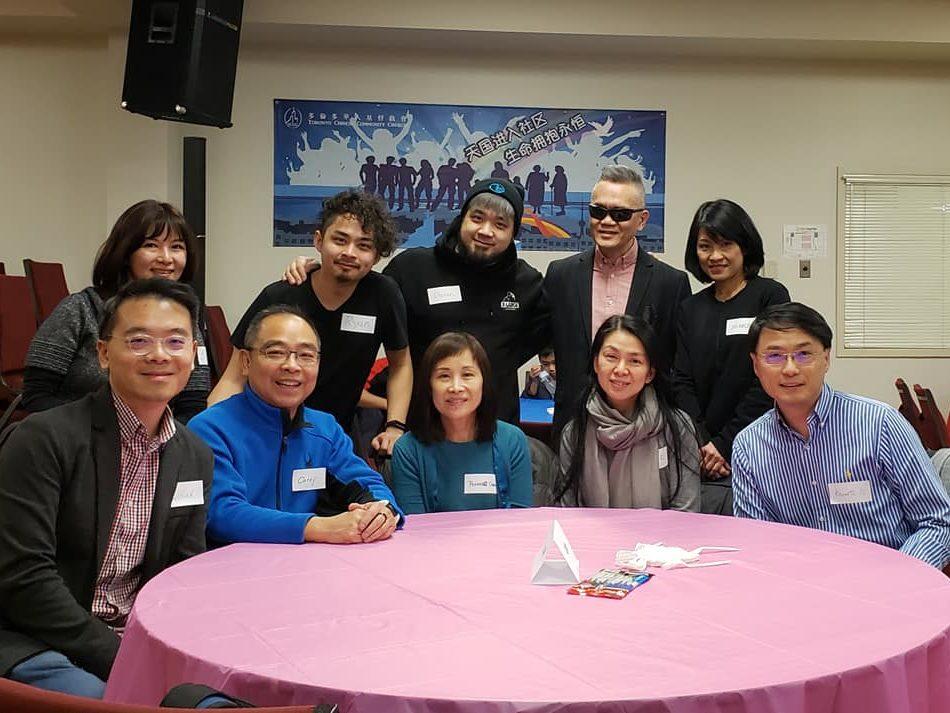Volunteer's appreciation night group photo